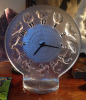 """Rosssignol"" -  A Rare Lalique Art Deco, Eight-Day Mantle Clock Circa 1931"